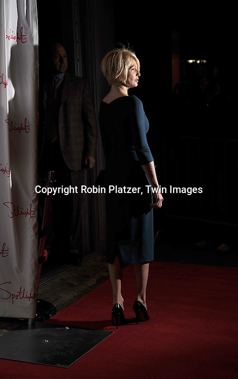 Ellen Barkin .at The 2007 New York Film Critic's Circle Awards on .January 6, 2008 at Spotlight in New York. ..Robin Platzer, Twin Images