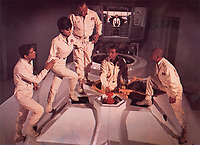 Fantastic Voyage (1966)<br /> Raquel Welch, Stephen Boyd, William Redfield, Arthur Kennedy &amp; Donald Pleasence<br /> *Filmstill - Editorial Use Only*<br /> CAP/KFS<br /> Image supplied by Capital Pictures