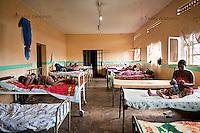 Expecting mothers wait in the antenatal ward of Mityana Hospital, Uganda.