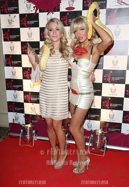 Millie Clode arriving for The UK Lingerie Awards 2012.London. 19/09/2012 Picture by: Henry Harris / Featureflash