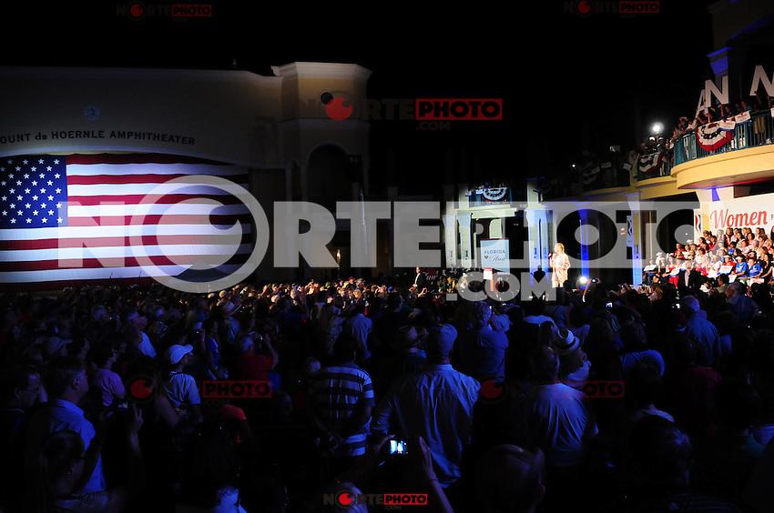 BOCA RATON, FL - OCTOBER 20: Ann Romney attends Boca Raton Victory Rally at Mizner Park Amphitheater on October 20, 2012 in Boca Raton, Florida. &copy; MPI10/MediaPunch Inc /NortePhoto .<br /> &copy;NortePhoto