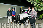 Teresa Looney from the Irish Kidney Association presented the keys to a Vintage Car to Julie O'Connor, Kilmoyley winner of the South Kerry Ploughing Match Draw on Tuesday. Pictured with Brendan Behan and Helen Flanagan,  Irish Kidney Association