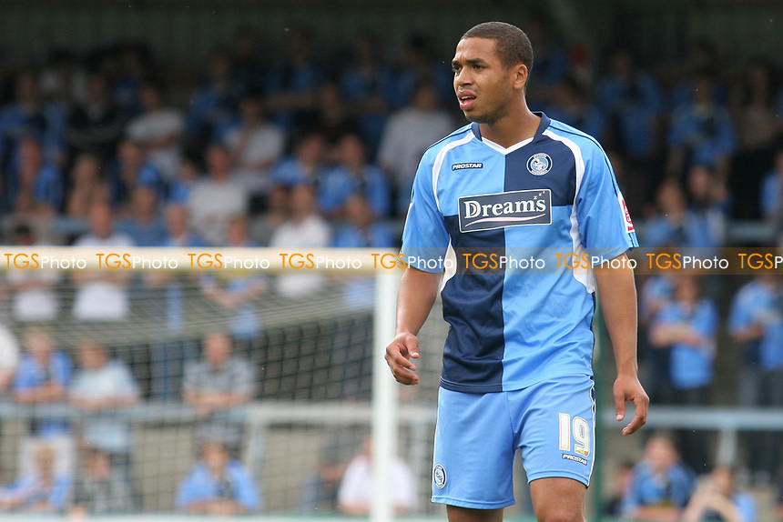 Lewwis Spence of Wycombe Wanderers, former Crystal Palace player during Wycombe Wanderers vs Lincoln City, Coca Cola League Division Two Football at Adams Park on 23rd August 2008