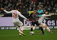 Filip Kostic (Eintracht Frankfurt) gegen Ellyes Skhiri (1. FC Koeln) - 18.12.2019: Eintracht Frankfurt vs. 1. FC Koeln, Commerzbank Arena, 16. Spieltag<br /> DISCLAIMER: DFL regulations prohibit any use of photographs as image sequences and/or quasi-video.