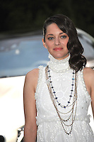 Marion Cotillard  at the 21st annual amfAR Cinema Against AIDS Gala at the Hotel du Cap d'Antibes.<br /> May 22, 2014  Antibes, France<br /> Picture: Paul Smith / Featureflash