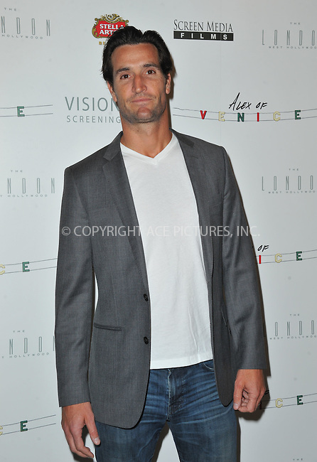 WWW.ACEPIXS.COM<br /> <br /> April 8 2015, LA<br /> <br /> Actor Matthew Del Negro arriving at the premiere of 'Alex Of Venice' at The London West Hollywood on April 8, 2015 in West Hollywood, California. <br /> <br /> By Line: Peter West/ACE Pictures<br /> <br /> <br /> ACE Pictures, Inc.<br /> tel: 646 769 0430<br /> Email: info@acepixs.com<br /> www.acepixs.com