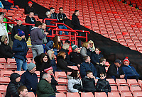 Fleetwood Town fans look on<br /> <br /> Photographer Richard Martin-Roberts/CameraSport<br /> <br /> The EFL Sky Bet League One - Barnsley v Fleetwood Town - Saturday 13th April 2019 - Oakwell - Barnsley<br /> <br /> World Copyright &not;&copy; 2019 CameraSport. All rights reserved. 43 Linden Ave. Countesthorpe. Leicester. England. LE8 5PG - Tel: +44 (0) 116 277 4147 - admin@camerasport.com - www.camerasport.com