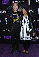 20 May 2016 - Hollywood, California - Shepard Fairey, Amanda Fairey. Arrivals for the P.S. ARTS Presents: The pARTy! held at Neuehouse. Photo Credit: Birdie Thompson/AdMedia