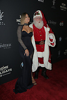 LOS ANGELES - NOV 18:  Pia Toscano, Santa Claus at the Grove Christmas Tree Lighting at the Grove on November 18, 2018 in Los Angeles, CA