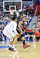 Dion Dixon of the Bearcats runs the offense. UConn defeats Cincinnati 69-58 during the 3rd round of the NCAA Tournament at the Verizon Center in Washington, D.C on Saturday, March 19, 2011. Alan P. Santos/DC Sports Box