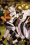 Torrance, CA 10/06/11 - Brandon Canky (Peninsula #11) in action during the Peninsula vs South Varsity football game.