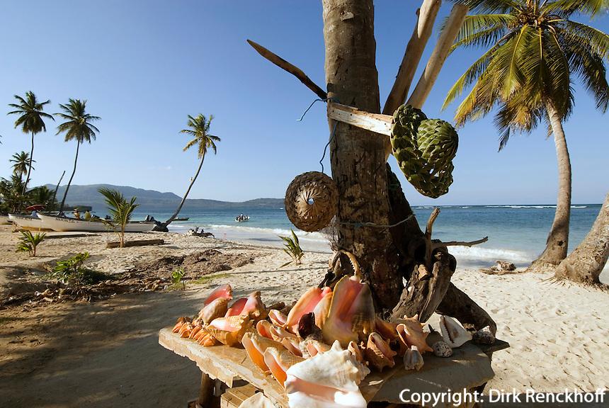 Dominikanische Republik, Strand Las Galeras auf der Samana-Halbinsel