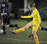 Club Brugge Dames - WB Sinaai Girls : Stephanie Ehlen.foto DAVID CATRY / Vrouwenteam.be