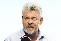 Darren Clarke (NIR) on Sky Sports during Thursday's Round 1 of the 117th U.S. Open Championship 2017 held at Erin Hills, Erin, Wisconsin, USA. 15th June 2017.<br /> Picture: Eoin Clarke | Golffile<br /> <br /> <br /> All photos usage must carry mandatory copyright credit (&copy; Golffile | Eoin Clarke)