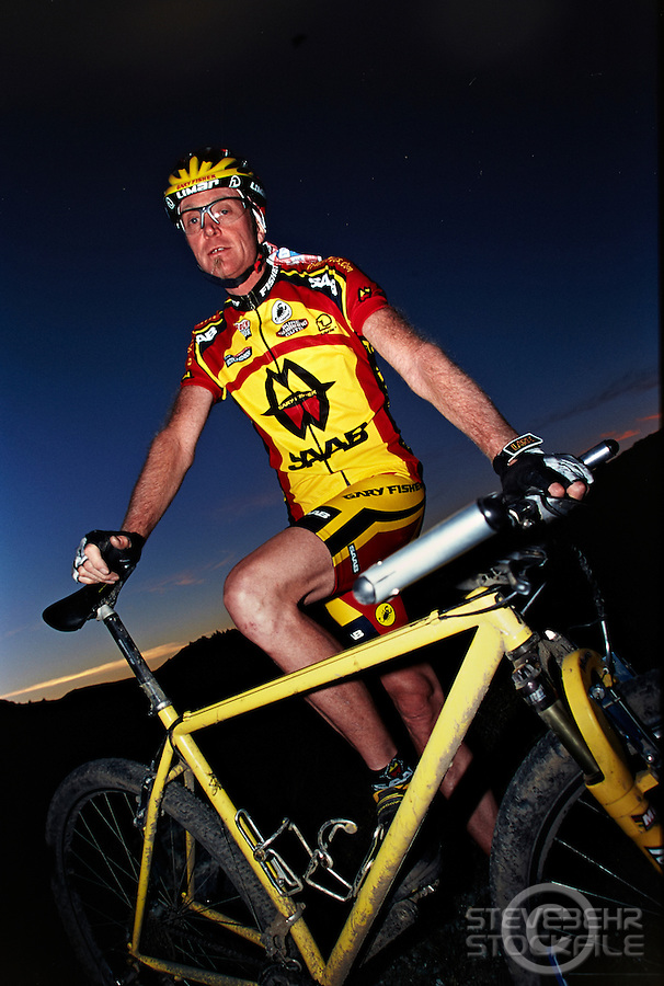 Gary Fisher , Marin County , California .    Scanned  December     2013.      pic copyright Steve Behr / Stockfile