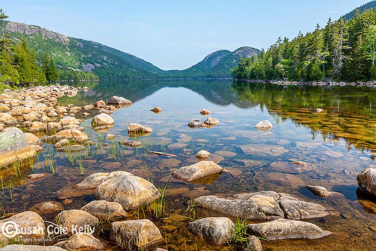 Jordan Pond in Acadia National Park, Maine, USA