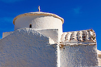 Byzantine Aghios Stefanos Church, Pano Kastro, Naxos, Greek Cyclades Islands