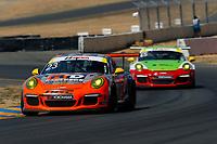 Porsche GT3 Cup Challenge USA<br /> Sonoma Raceway<br /> Sonoma Raceway, Sonoma, CA USA<br /> Sunday 17 September 2017<br /> 23, Fred Kaimer, GT3G, USA, 2016 Porsche 991<br /> World Copyright: Jake Galstad<br /> LAT Images
