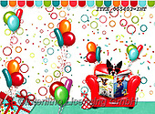 Isabella, CHILDREN BOOKS, BIRTHDAY, GEBURTSTAG, CUMPLEAÑOS, paintings+++++,ITKE055403-INT,#BI#, EVERYDAY ,balloons