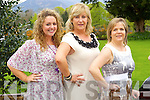 Olga Enright, Mandy McKensieVass and Yvonne Doherty, Tralee at Kerry Fashion Weekend at the Brehon Hotel Killarney on Sunday.