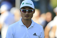Haotong Li (CHN) walks off the 17th tee during Sunday's Final Round of the 2018 Turkish Airlines Open hosted by Regnum Carya Golf &amp; Spa Resort, Antalya, Turkey. 4th November 2018.<br /> Picture: Eoin Clarke | Golffile<br /> <br /> <br /> All photos usage must carry mandatory copyright credit (&copy; Golffile | Eoin Clarke)