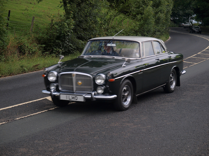 Rover 3.5 Saloon Cars - 1970