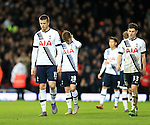 Tottenham's Eric Dier looks on dejected at the final whistle<br /> <br /> - English Premier League - West Ham Utd vs Tottenham  Hotspur - Upton Park Stadium - London - England - 2nd March 2016 - Pic David Klein/Sportimage