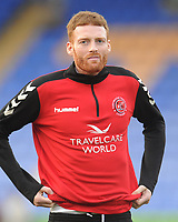 Fleetwood Town's Cian Bolger during the pre-match warm-up <br /> <br /> Photographer Kevin Barnes/CameraSport<br /> <br /> The EFL Sky Bet League One - Shrewsbury Town v Fleetwood Town - Tuesday 1st January 2019 - New Meadow - Shrewsbury<br /> <br /> World Copyright © 2019 CameraSport. All rights reserved. 43 Linden Ave. Countesthorpe. Leicester. England. LE8 5PG - Tel: +44 (0) 116 277 4147 - admin@camerasport.com - www.camerasport.com