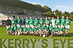 The Colaiste na Sceilige team that playe Colaiste Chrois Ri in Killarney on Wednesday