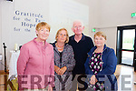 Mary O'Donoghue, Jane Rown, PJ Higgins and Lena Griffin pictured at Blennerville NS during its official opening on Wednesday afternoon.