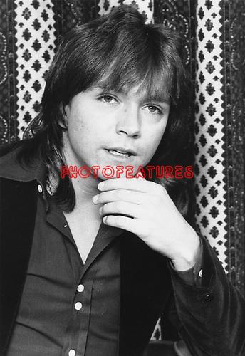David Cassidy 1973..© Chris Walter..