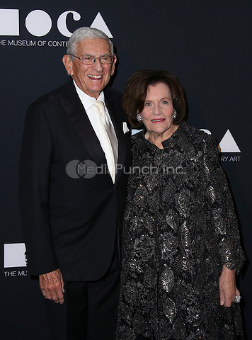 LOS ANGELES, CA - MAY 14: Eli Broad, Edythe L. Broad arrives at the MOCA Gala 2016 at The Geffen Contemporary at MOCA on May 14, 2016 in Los Angeles, California. Credit: Parisa/MediaPunch.