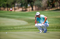 Dean Burmester (RSA) during the 2nd round at the Nedbank Golf Challenge hosted by Gary Player,  Gary Player country Club, Sun City, Rustenburg, South Africa. 08/11/2018 <br /> Picture: Golffile | Tyrone Winfield<br /> <br /> <br /> All photo usage must carry mandatory copyright credit (&copy; Golffile | Tyrone Winfield)