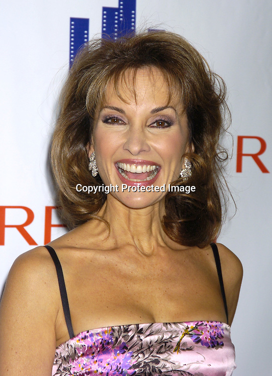 Susan Lucci in Dolce and Gabbana dress..at The New York Women in Film and Television 2004 Muse Awards Luncheon on Dec 16, 2004 at the New York Hilton Hotel. Lucci, Sweeney, Grant and Zea were honored. ..Photo by Robin Platzer, Twin Images