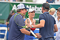 DELRAY BEACH, FL - NOVEMBER 24: Jon Lovitz, Chris Evert,  Scott Foley and Martina Navratilova attend the 30TH Annual Chris Evert Pro-Celebrity Tennis Classic Day3 at the Delray Beach Tennis Center on November 24, 2019 in Delray Beach, Florida.  ( Photo by Johnny Louis / jlnphotography.com )