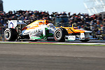 Paul di Resta (11) driver of the Sahara Force India F1 Team Mercedes in action during the Formula 1 United States Grand Prix practice session at the Circuit of the Americas race track in Austin,Texas. The Formula 1 United States Grand Prix will take place on 18 November 2012....