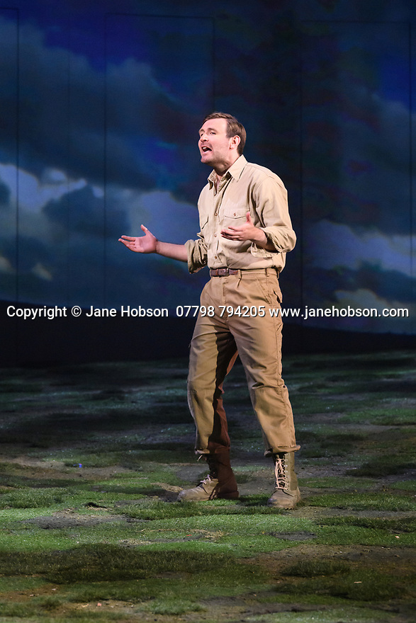 """The National Theatre of Great Britain presents """"Peter Gynt"""", by David Hare, directed by Jonathan Kent, at the Festival Theatre, as part of the Edinburgh International Festival. Picture shows: James McArdle (Peter Gynt)."""