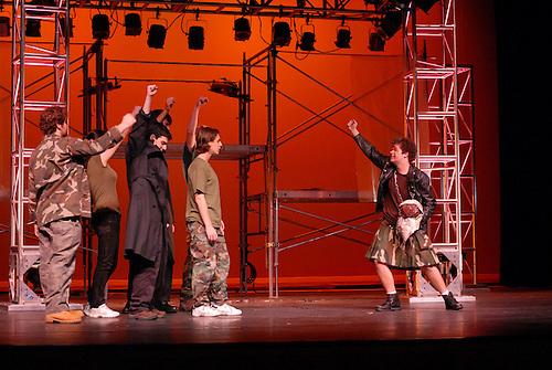 Rye Fall Play.Dress Rehearsal.Shakespeare.November 16-18..... .