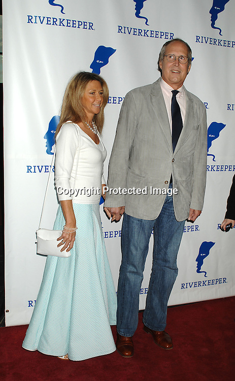 Jayni and Chevy Chase..arriving at The Riverkeeper Gala honoring the Hearst Corporation on April 19, 2007 at Pier Sixty at Chelsea Piers. ..in New York City,..Robin Platzer, Twin Images