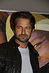 Actor Gerard Butler in support of the launch of the Global Poverty Project's 1.4 Billion Reasons DVD on October 20. 2010 at New York City's Museum of Modern Art, NYC, NY. (Photo by Sue Coflin/Max Photos)