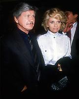 Charles Bronson, Jill Ireland, 1988, Photo By Michael Ferguson/PHOTOlink