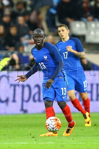 29.03.2016. Stade de France, Paris, France. International football friendly. France versus Russia.  N Golo Ngolo Kante (France)