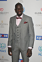 Mamadou Sakho at the Football For Peace Initiative Dinner by Global Gift Foundation, Corinthia Hotel, Whitehall Place, London, England, UK, on Monday 08th April 2019.<br /> CAP/CAN<br /> ©CAN/Capital Pictures