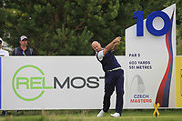 Craig Lee (SCO) on the 10th tee during Round 1 of the D+D Real Czech Masters at the Albatross Golf Resort, Prague, Czech Rep. 31/08/2017<br /> Picture: Golffile | Thos Caffrey<br /> <br /> <br /> All photo usage must carry mandatory copyright credit     (&copy; Golffile | Thos Caffrey)
