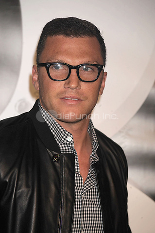 Sean Avery on the carpet during Burberry Day at The New York Palace Hotel on May 28, 2009 in New York City Credit: Dennis Van Tine/MediaPunch