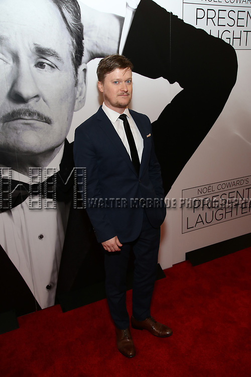 Steven Boyer attends the Broadway Opening Night Performance of 'Present Laughter' at St. James Theatreon April 5, 2017 in New York City