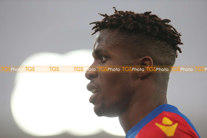 Wilfried Zaha of Crystal Palace during Crystal Palace vs Middlesbrough, Premier League Football at Selhurst Park on 25th February 2017