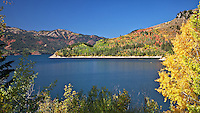 Palisades Reservoir, Fall Colors, Swan Valley, Idaho