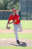 Joseph Krebs, Cincinnati Reds 2010 minor league spring training..Photo by:  Bill Mitchell/Four Seam Images.