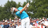 Victor Dubuisson (FRA) during Round Three of the 2015 Alstom Open de France, played at Le Golf National, Saint-Quentin-En-Yvelines, Paris, France. /04/07/2015/. Picture: Golffile | David Lloyd<br /> <br /> All photos usage must carry mandatory copyright credit (© Golffile | David Lloyd)